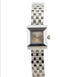 PRICE DROP Gucci NWT Swiss Made G Frame Watch